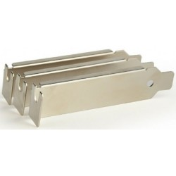 Bracket PCI/PCIe sin Ventilacion Gembird x3 Unidades