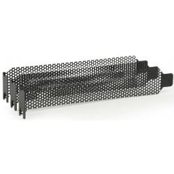 Bracket PCI/PCIe con Ventilación Gembird x3 Unidades