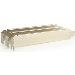 Bracket PCI/PCIe de Perfil Bajo sin Ventilación Gembird x3 Unidades