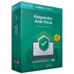 Kaspersky Antivirus 2019 3 Dispositivos 1 Año