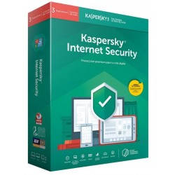 Kaspersky Internet Security 2019 3 Dispositivos 1 Año