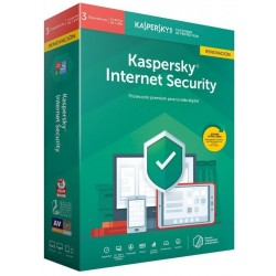 Kaspersky Internet Security 2019 3 Dispositivos 1 Año Renovación