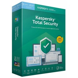 Kaspersky Total Security 2019 5 Dispositivos 2 Usuarios 1 Año
