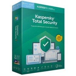Kaspersky Total Security 2019 3 Dispositivos 1 Usuario 1 Año