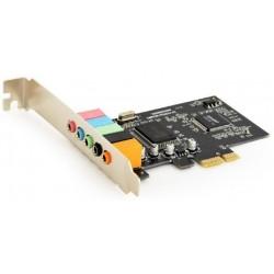 Tarjeta de Sonido PCIe 5.1 Gembird