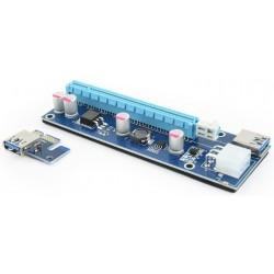 Tarjeta PCIe Complementaria de Riser Gembird RC-PCIEX-03