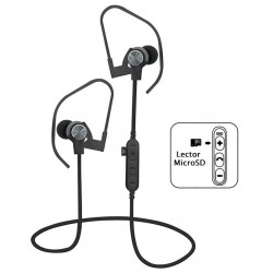 Auriculares Bluetooth Platinet PM1062G Gris