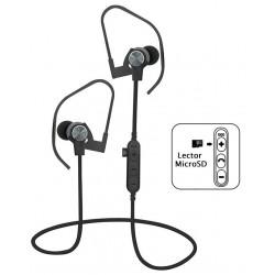 Auriculares Bluetooth Platinet PM1062G Gris