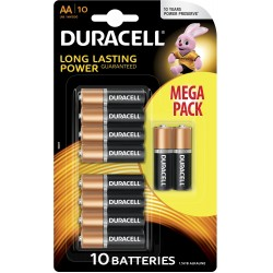 Pila AA Duracell Simply 10 Unidades