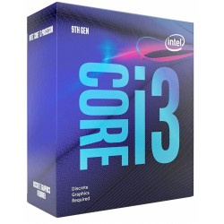 Procesador Intel Core i3 9100F 3,6 Ghz LGA1151