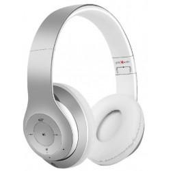 Auriculares Bluetooth Gembird Milano Blanco/Plata