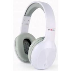 Auriculares Bluetooth Gembird Miami Blanco