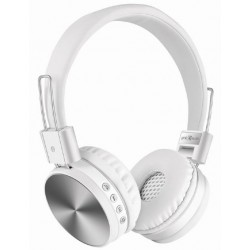 Auriculares Bluetooth Gembird Kyoto Blanco