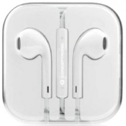 Auriculares Conceptronic Power2Go Blanco