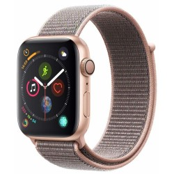 Apple Watch Series 4 GPS 44mm Aluminio Oro Correa Deportiva Loop Rosa Arena