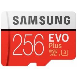 Tarjeta MicroSD 256GB Samsung Evo Plus