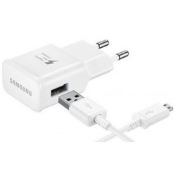 Cargador USB TypeC Samsung 2A Blanco