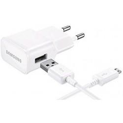 Cargador MicroUSB Samsung 2A Blanco
