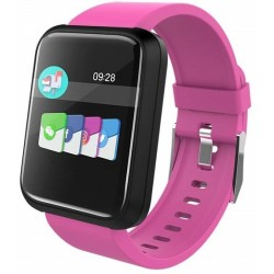 Smartwatch Brigmton Bsport 17-P Rosa