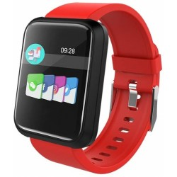 Smartwatch Brigmton Bsport 17-R Rojo