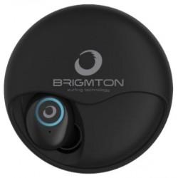Auriculares Bluetooth Brigmton BML-17-N Negro