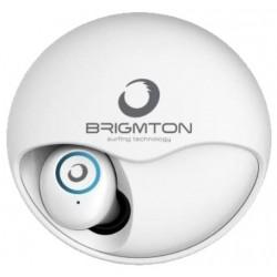 Auriculares Bluetooth Brigmton BML-17-B Blanco