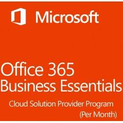 Microsoft Office 365 Empresa Essentials Suscripción Mensual Cloud