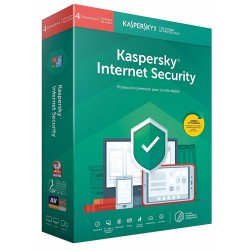 Kaspersky Internet Security 2019 4 Dispositivos 1 Año