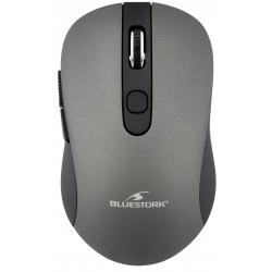 Ratón Wireless Bluestork Office 60 Gris