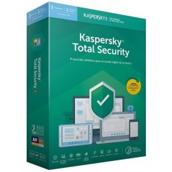 Kaspersky Total Security 2020 3 Dispositivos 1 Usuario 1 Año