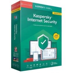 Kaspersky Internet Security 2020 3 Dispositivos 1 Año Renovación