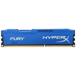 Memoria DDR3 1600 4GB Kingston HyperX Fury Blue