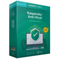 Kaspersky Antivirus 2020 3 Dispositivos 1 Año