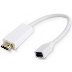 Adaptador Mini DisplayPort H a HDMI M Cablexpert Blanco