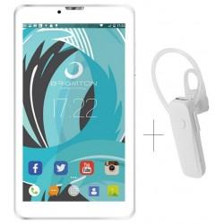 """Tablet de 7"""" Brigmton BTPC-PH6-B Blanca + Auricular BML-12"""