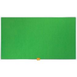 """Tablero de Fieltro de 32"""" Panorámico Nobo Verde"""