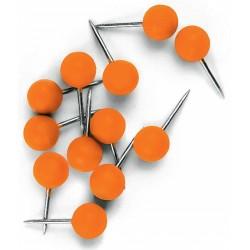 Chinchetas para Tablero Nobo Color Naranja