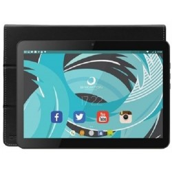 "Tablet de 10"" Brigmton BTPC-1024QC-N Negra + Funda BTAC-108"