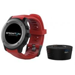 Smartwatch Brigmton Bwatch-100GPS-R Rojo