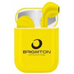 Auriculares Bluetooth Brigmton BML-18-Y
