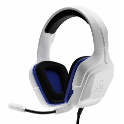 Auriculares con Microfono The G-Lab Korp Cobalt White