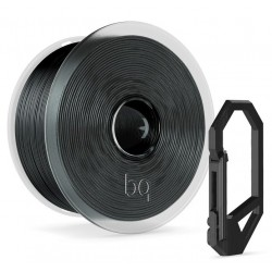 Filamento PET-G 1,75mm Bq Negro 1kg Easy Go