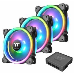 Ventilador Thermaltake Riing Trio 12 RGB Kit x3