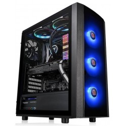 Carcasa ATX Thermaltake Versa J25 Tempered Glass RGB Edition