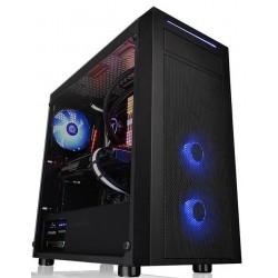 Carcasa ATX Thermaltake Versa J22 Tempered Glass RGB Edition