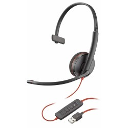 Auriculares Plantronics Blackwire 3210 USB-A