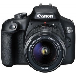 Camara Réflex Canon EOS 4000D + 18-55 mm DCIII Kit