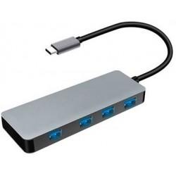 Hub USB Type C de 4 Puertos 3.0 Platinet