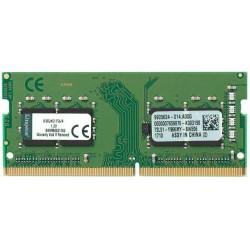 Memoria Sodimm DDR4 2400 4GB Kingston CL17 KVR24S17S6/4