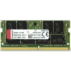 Memoria Sodimm DDR4 2400 16GB Kingston CL17 KVR24S17D8/16
